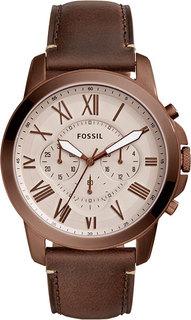 Наручные часы кварцевые мужские Fossil FS5344