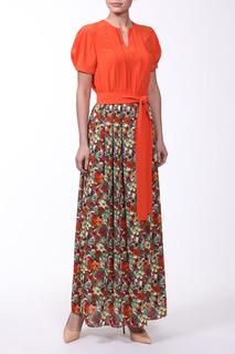 Платье женское Kristina П-5355 разноцветное 38
