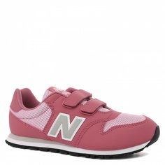 Кроссовки для девочек New Balance, цв. розовый, р.32,5