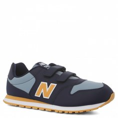 Кроссовки для девочек New Balance, цв. синий, р.32