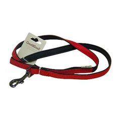 Поводок для собак GREAT&SMALL из высокопрочного рипстопа 10х1200мм неопрен красный