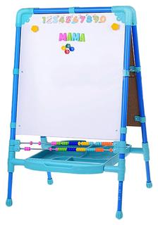 Мольберт для рисования Nika Kids растущий М2Л/С синий