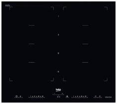 Встраиваемая варочная панель индукционная Beko HII 68600 PTX Black