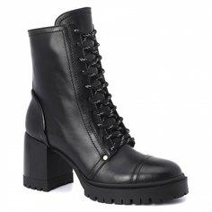 Ботинки женские Casadei 1R135N070 черные 37 EU