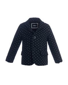 Пиджак для мальчиков Gulliver, цв. черный, р.86