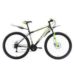 Велосипед Black One Onix 27.5 D серый/черный/зеленый 2018-2019, 20 (H000014882)