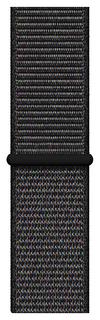 Ремешок для смарт-часов Apple Sport Loop для Apple watch 40 mm black (MTLT2ZM/A)