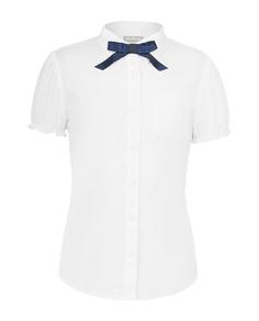 Блузка для девочек Gulliver, цв. белый, р.158
