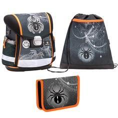 Ранец Belmil Classy Spider с мешком для обуви и пеналом