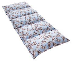 Матрасик с подушками Крошка Я Еноты двусторонний 70×190 см, бязь/спанбонд