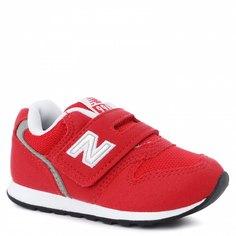Кроссовки для девочек New Balance, цв. красный, р.20,5