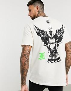 Oversized-футболка HNR LDN-Розовый Honour