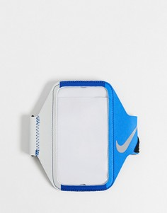Синий браслет на предплечье Nike Training Lean-Черный