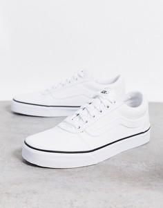 Белые классические кеды Vans-Белый