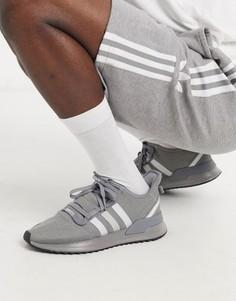 Серые кроссовки adidas Originals u-path-Серый