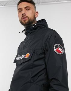 Черная куртка с короткой молнией ellesse-Черный