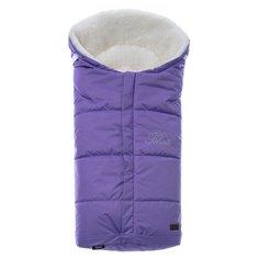 Конверт-мешок Nuovita Siberia Bianco меховой 90 см фиолетовый