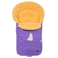 Конверт-мешок Nuovita Tundra Pesco меховой 90 см фиолетовый