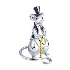 SOKOLOV Сувенир «Крыса» из серебра 2305080017