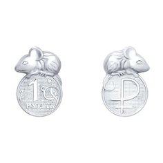 SOKOLOV Серебряный сувенир «Кошельковая мышь» 2305080009