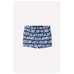 Шорты для плавания crockid размер 140-146, темно-синий