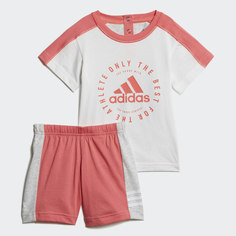 Комплект: футболка и шорты Summer adidas Performance