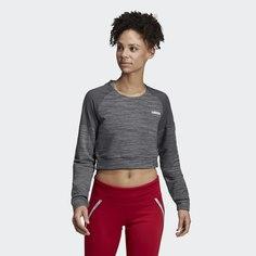 Укороченный джемпер для фитнеса Xpressive adidas Athletics