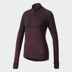 Куртка для бега Climaheat Primeknit adidas Performance