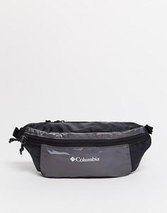 Легкая складываемая сумка-кошелек на пояс серого цвета Columbia-Зеленый