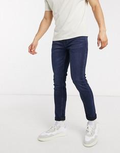 Темно-синие джинсы скинни Only & Sons-Синий