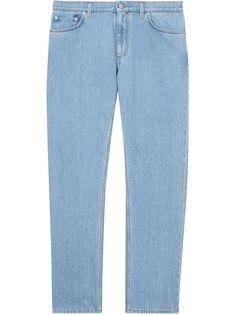Burberry прямые джинсы