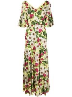 Dolce & Gabbana платье с цветочным принтом