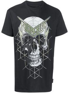 Philipp Plein футболка с принтом Skull и короткими рукавами