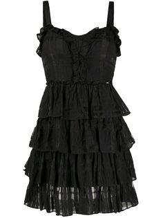 LIU JO ярусное коктейльное платье