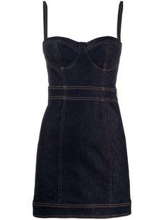 Just Cavalli джинсовое платье узкого кроя