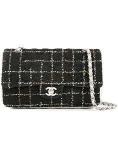 Chanel Pre-Owned сумка на плечо с двойным откидным клапаном
