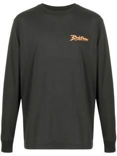 BornxRaised футболка с длинными рукавами и логотипом