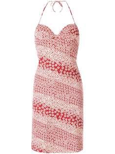 Chanel Pre-Owned пляжное платье с цветочным принтом