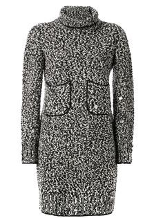 Chanel Pre-Owned трикотажное платье с длинными рукавами