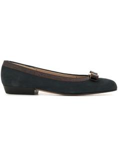 Salvatore Ferragamo Pre-Owned туфли-лодочки на низком каблуке