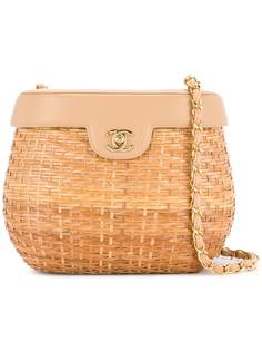 Chanel Pre-Owned сумка-корзина на цепочке