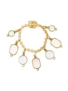 Chanel Pre-Owned браслет с декоративными камнями