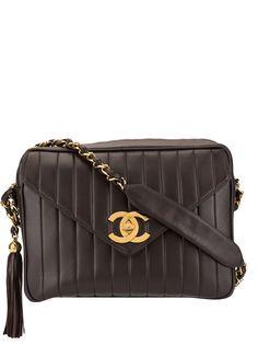 Chanel Pre-Owned сумка на плечо Jumbo XL Mademoiselle 1995-го года с цепочкой
