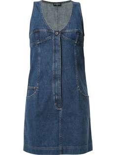 Chanel Pre-Owned джинсовое платье мини