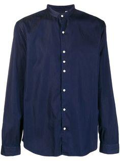 John Smedley однотонная рубашка с длинными рукавами