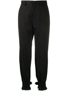 Comme Des Garçons Noir Kei Ninomiya зауженные брюки с пряжками