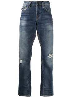 True Religion джинсы прямого кроя с эффектом потертости