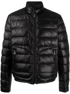 Moncler стеганая куртка с воротником-стойкой