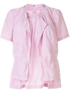 Comme Des Garçons многослойная рубашка с бахромой