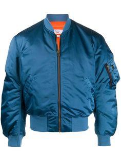 Martine Rose атласная куртка-бомбер